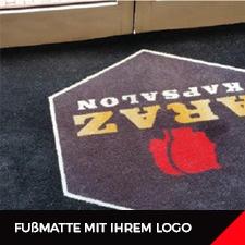 Fußmatte mit Ihrem Logo